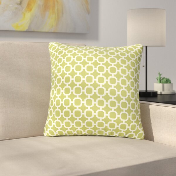 Samantha Geometric Indoor/ Outdoor Throw Pillows by Latitude Run