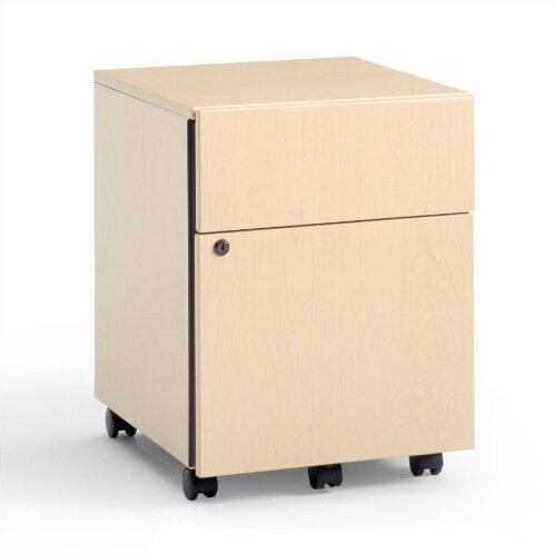 3-Drawer Mobile Classic Payback Box/File Pedestal by Steelcase