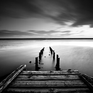 The Jetty Photographic Print by Star Creations