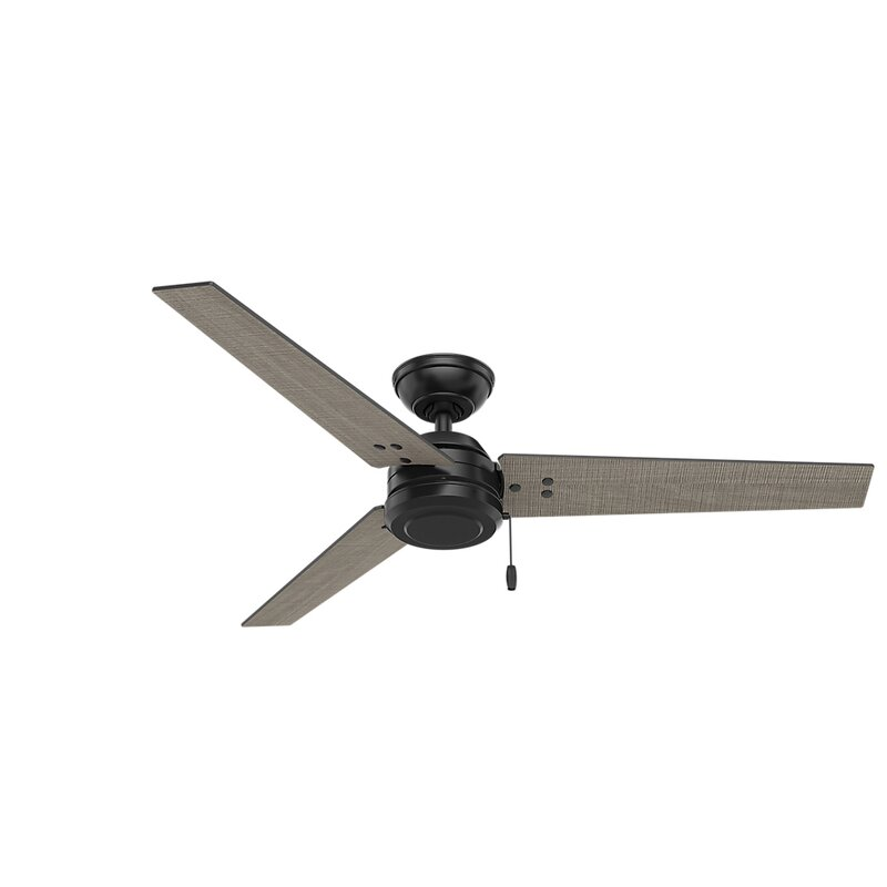 """Hunter 52 Contemporary Ceiling Fan 3 Coffee Blades: Hunter Fan 52"""" Cassius 3-Blade Ceiling Fan & Reviews"""