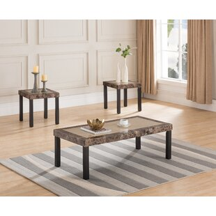 Online Reviews Liverpool 3 Piece Coffee Table Set by Winston Porter