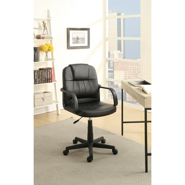 Klaus Smart Gas Lift Adjustable Height Office Chair by Symple Stuff