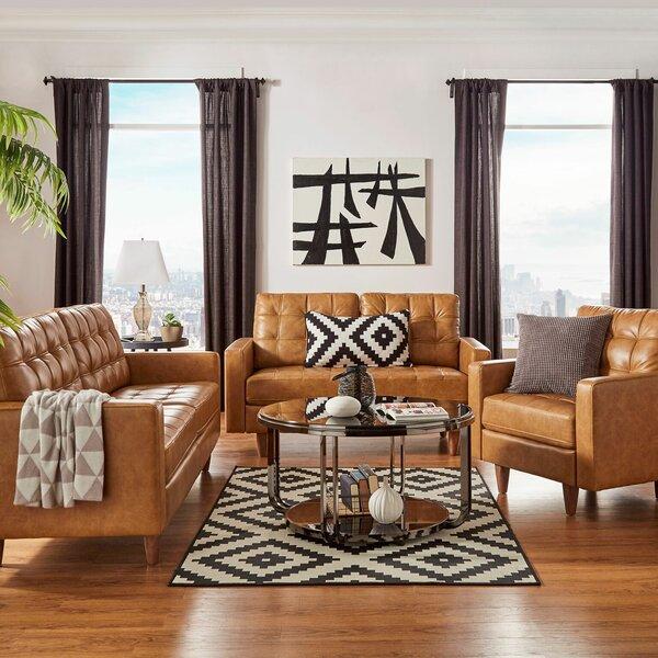 Liberty Hill Hoenheim 3 Piece Living Room Set by 17 Stories