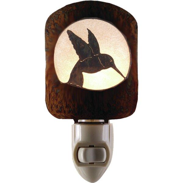 Hummingbird Night Light by Lazart