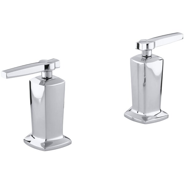 Margaux Valve Trim with Lever Handles for Deck-Mount High-Flow Bath Valve, Requires Valve by Kohler
