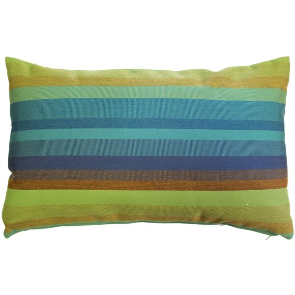 Cheryton Lagoon Indoor/Outdoor Sunbrella Lumbar Pillow by Red Barrel Studio