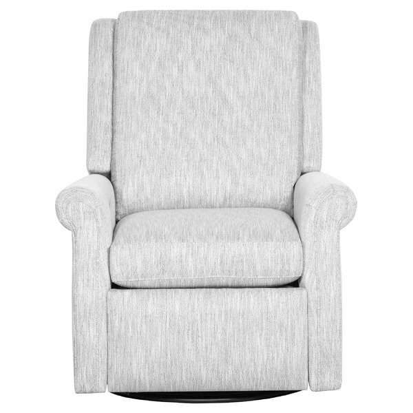 Roll Leather Manual Recliner By Fairfield Chair