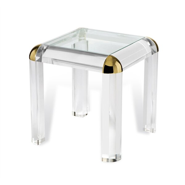 Hollywood Regency End Table by Interlude