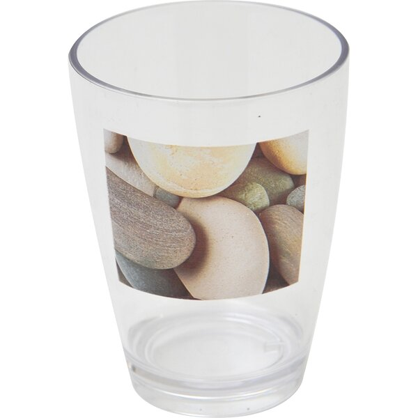 Belle Ile Clear Acrylic Printed Tumbler by Evideco