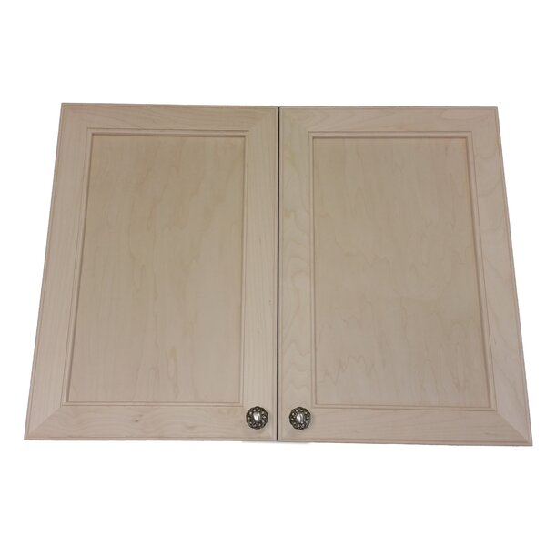 Village 31 W x 31.5 H Wall Mounted Cabinet by WG Wood Products