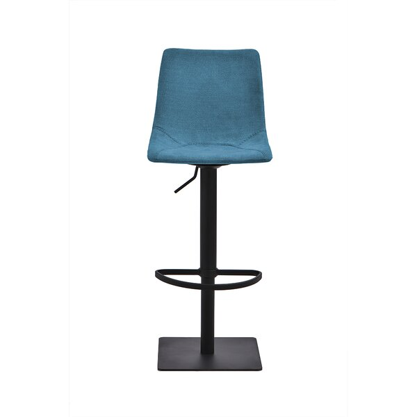 Akeeb Swivel Adjustable Height Stool by Latitude Run Latitude Run