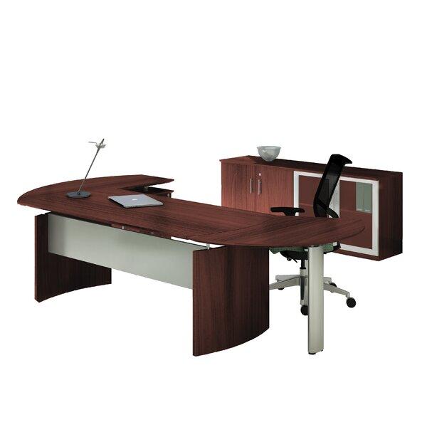 Medina Series 2 Piece Standard Right Return Desk Office Suite by Mayline Group