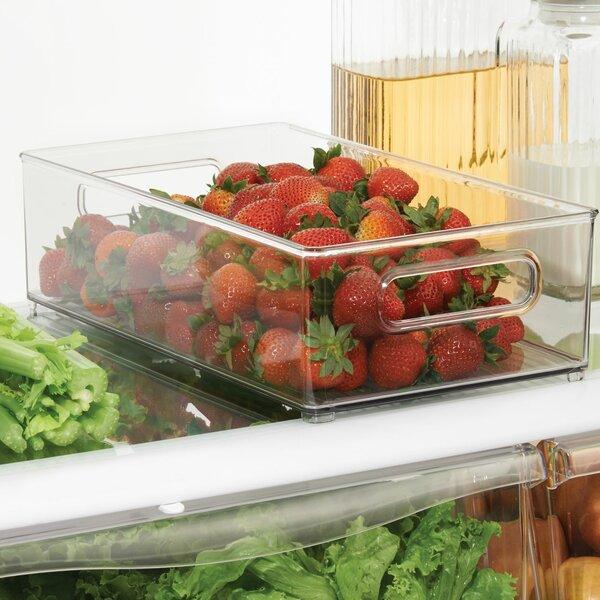 Deep Fridge and Freezer Binz Food Storage Container Set by InterDesign