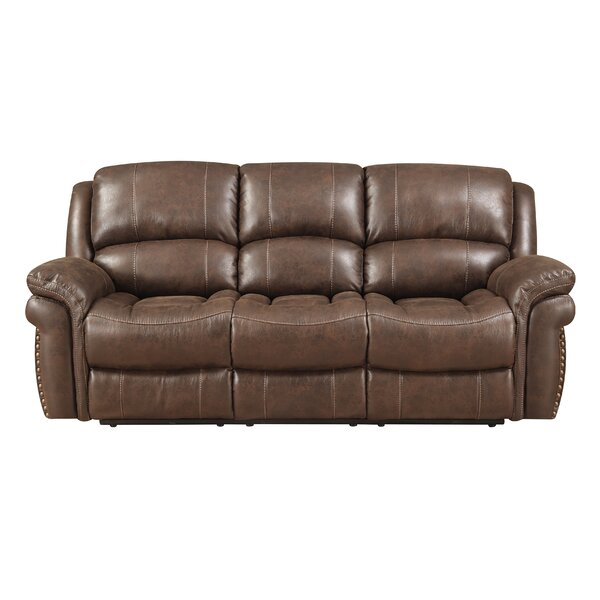 Shop Special Prices In Goodell Reclining Sofa by Darby Home Co by Darby Home Co
