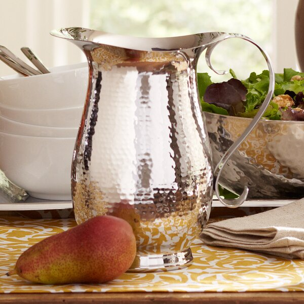 Hammered Pitcher by Birch Lane™
