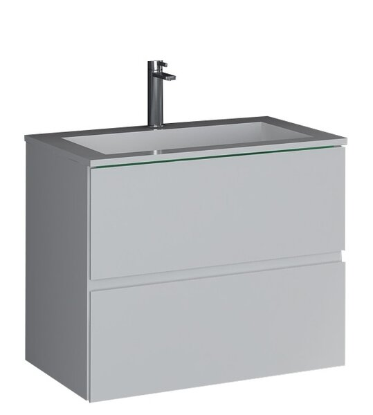 Sheper True Solid Surface 24 Pedestal Bathroom Sink by dCOR design