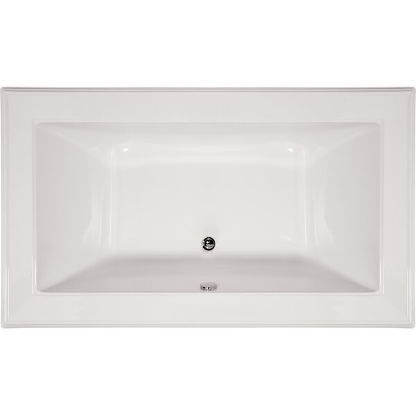 Designer Angel 72 x 42 Drop In Air Bathtub by Hydro Systems