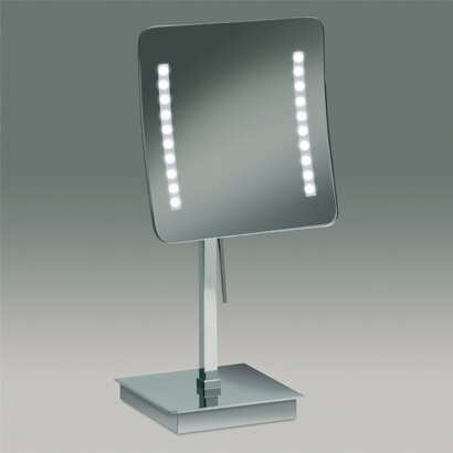 Square Pedestal Magnifying Mirror by Windisch by Nameeks