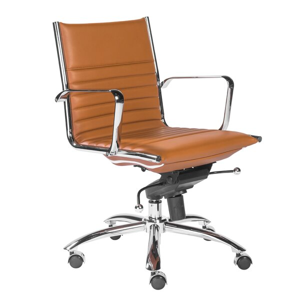 Westernport Low Back Bungee Office Chair by Wade Logan