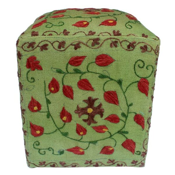 Tillman Kilim Cube Ottoman by August Grove