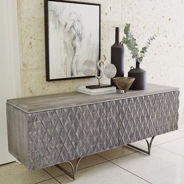 Diamond Media Cabinet Sideboard by Studio A Home