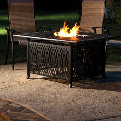 Gibbons Aluminum Gas Fire Pit Table by Darby Home Co