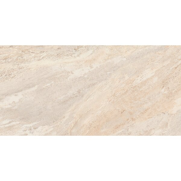 Milestone 12 x 24 Porcelain Field Tile in Dust by Emser Tile