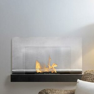 Ferrum Wall Mounted Ethanol Fireplace