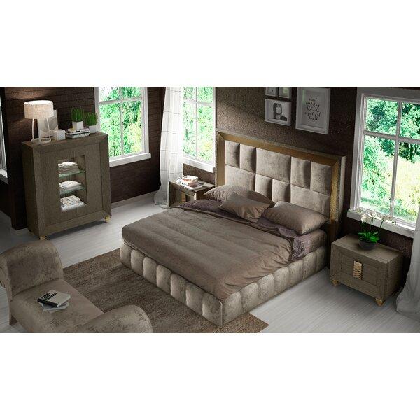 Jerri 4 Piece Standard Bedroom Set by Everly Quinn Everly Quinn