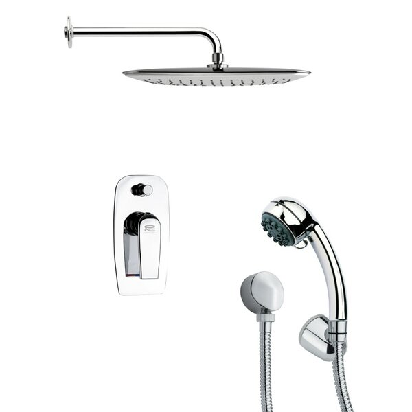 Orsino Pressure Balanced Complete Shower System with Rough-in Valve by Remer by Nameek's Remer by Nameek's