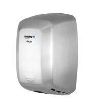 Surface-Mounted Steel, Adjustable Sensor-Operated Hand Dryer in Stainless Steel by Bradley Corporation