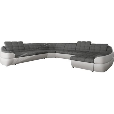wohnlandschaften polsterfarbe grau. Black Bedroom Furniture Sets. Home Design Ideas