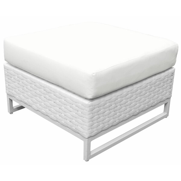 Miami Ottoman with Cushion by TK Classics