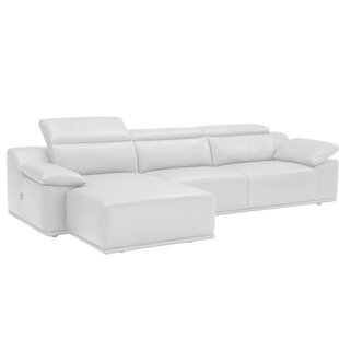 Isabella Leather Reversible Sectional