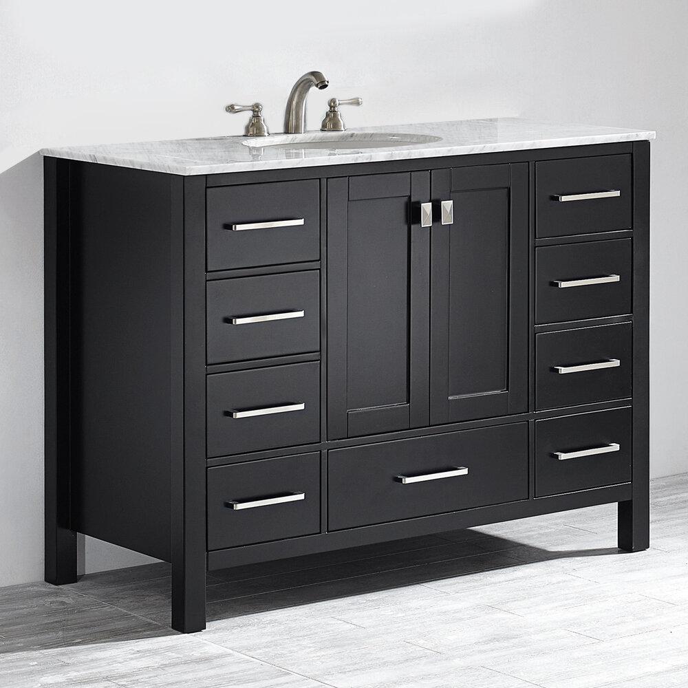 Newtown 48 Single Bathroom Vanity Set