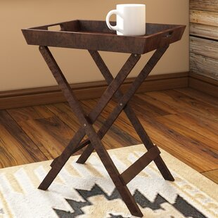 Price Check Ramos End Table with Tray ByBirch Lane™