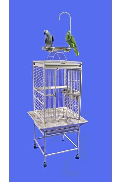 Jackie Medium Play Top Bird Cage by Tucker Murphy