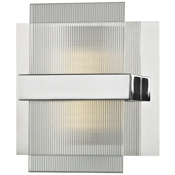 Jamesburg 1-Light LED Bath Sconce by Wade Logan