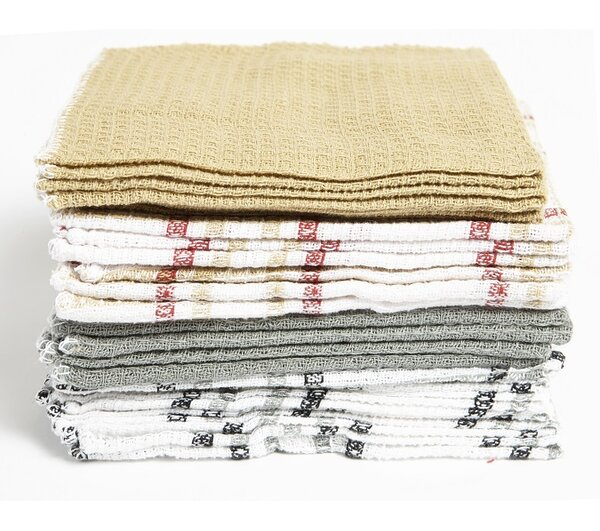 Waffle 20 Piece Cotton Dishcloth Set by Darby Home Co