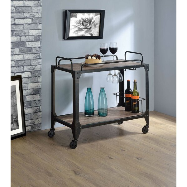 Salyer Bar Cart By Williston Forge Great Reviews