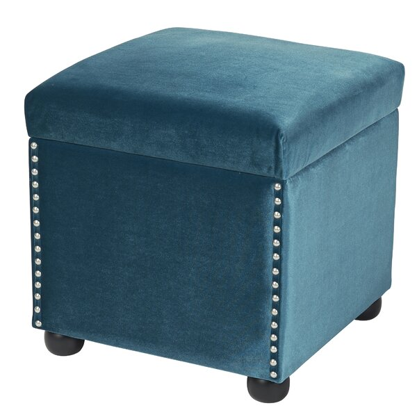 Fusion Storage Ottoman by Sandy Wilson