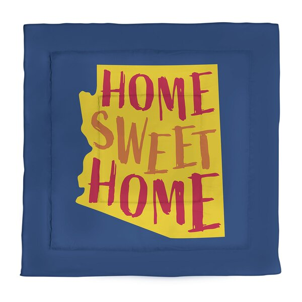 Arizona Home Sweet Single Reversible Comforter