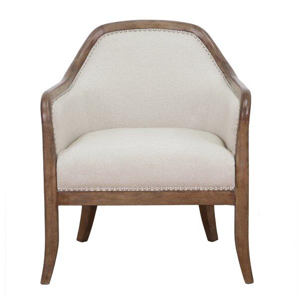 Vonda Barrel Chair by Gracie Oaks