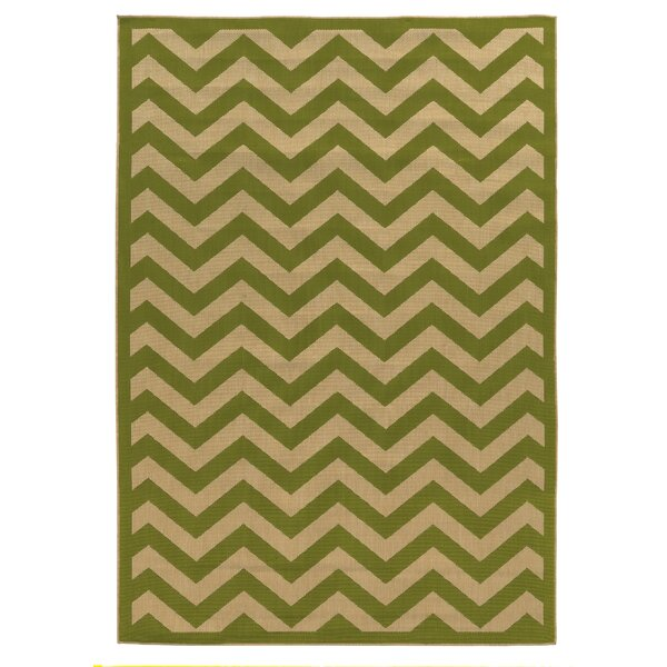 Beatrice Green Indoor/Outdoor Area Rug by Threadbind