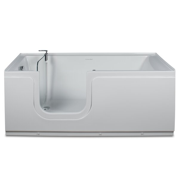 Aquarite 59 x 30 Step-In Soaking Bathtub by Homeward Bath