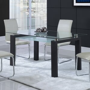 Glass Kitchen U0026 Dining Tables Youu0027ll Love | Wayfair Ideas