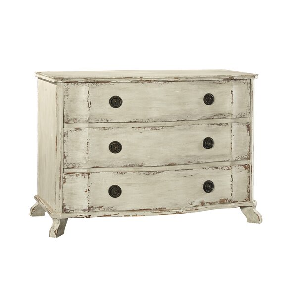 Berkley 3 Drawer Accent Chest by Furniture Classics