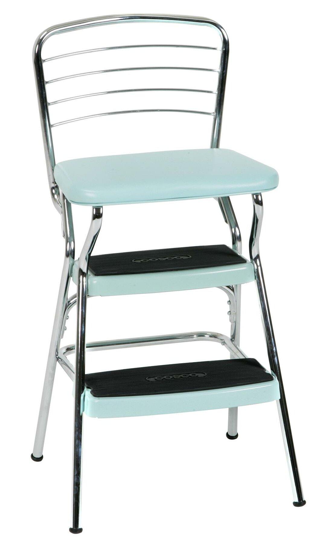 Tremendous Thorson 3 Step Steel Step Stool Evergreenethics Interior Chair Design Evergreenethicsorg