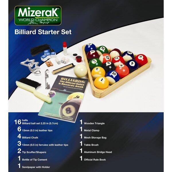 Billiard Starter Set by Mizerak
