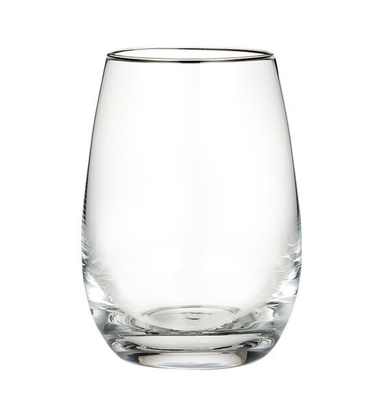 Vintage 16 Oz. Stemless Wine Glass (Set of 4) by Marquis by Waterford